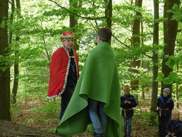 Kongen og dragen forhandler